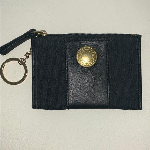 Coach Accessories - Coach Key Card Change Purse